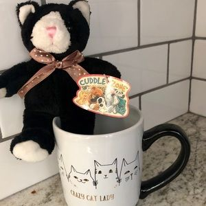 Crazy Cat Lady mug set